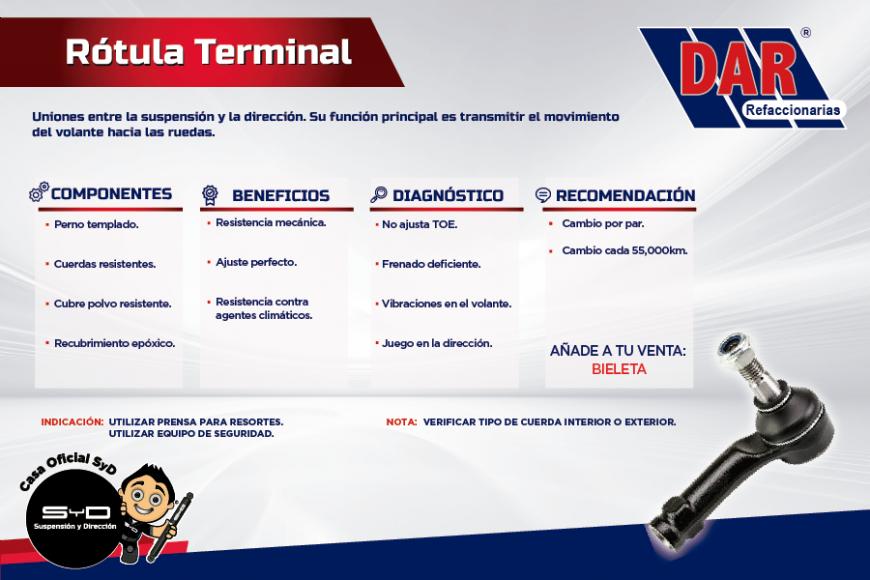 ¿Sabías que es una rótula terminal?